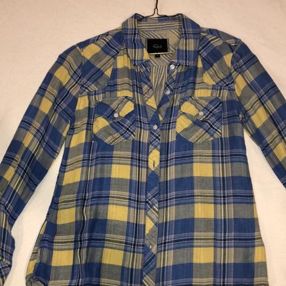blue flannel shirt womens